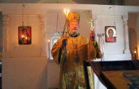 Божественная литургия в День рождения Владыки Христофора. 2015 г.