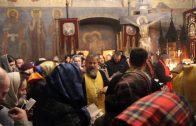 Частица мощей Николая Чудотворца в Праге. Молебен и акафист в Успенской церкви. 2016.12.26.