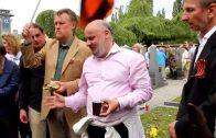 День Победы в Праге на Ольшанском кладбище. 11.05.2015