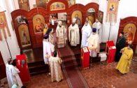 Литургия в чешском городе Литомержице в храме св. Вячеслава