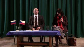Николай Стариков в Праге. Nikolaj Starikov v Praze. 2016.02.01