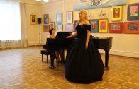 Сольный концерт Марины Выскворкиной — солистки Национального театра Праги. 2015 г.