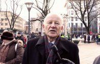В Вильнюсе прошёл митинг против нищеты. 2011-12-10