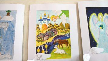 Открытие международной детской выставки рисунков «Ангелы Мира»