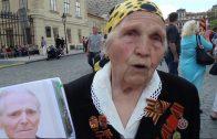 Труженица тыла, вдова ветерана Виноградова В.Н. в Праге