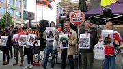 Митинг в Праге в третью годовщину убийств людей в Одессе
