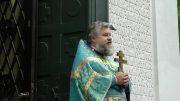 Последняя на данный момент Литургия протоиерея Игоря Ефремушкина в Успенской церкви в Праге
