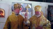 Архиепископ пражский Михаил поздравил митрополита Христофора с 65-летним юбилеем