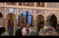 Храм новомучеников и исповедников Российских в Усти-над-Лабем с новым иконостасом — первая Литургия