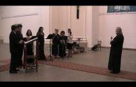 Выступление хора Храма новомучеников и исповедников Российских в Усти-над-Лабем (Чехия)