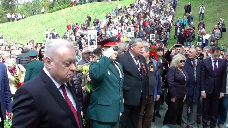 День Победы и Бессмертный полк в Вильнюсе. 9 мая 2019 г.