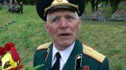 День Победы в Вильнюсе. Ветеран Николай Григорьевич Черничкин. 9 мая 2019 г.