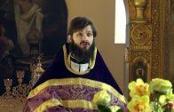 Неделя 5-я Великого поста. Воскресная проповедь священника Константина Лазукина