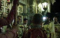 Пасхальное богослужение в Вильнюсе. Храм святых Константина и Михаила (Романовская церковь)