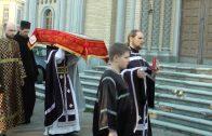 Утреня Великой Субботы с чином погребения. Храм св. Константина и Михаила г. Вильнюс
