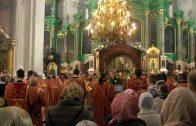 Величание святых Виленских мучеников Антония, Иоанна и Евстафия. Свято-Духов монастырь г. Вильнюс