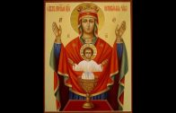 Молебен с акафистом Богородице в честь иконы Неупиваемая Чаша — Хор Свято-Елисаветинского монастыря