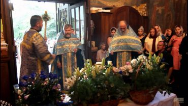 Предпразднство Успения Пресвятой Богородицы в пражском храме Успения Пресвятой Богородицы