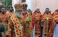 Величание святых Виленских мучеников Антония, Иоанна и Евстафия. Вильнюс, 26 июля 2019